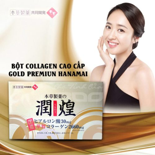 Gold premium hanamai collagen có tốt không?